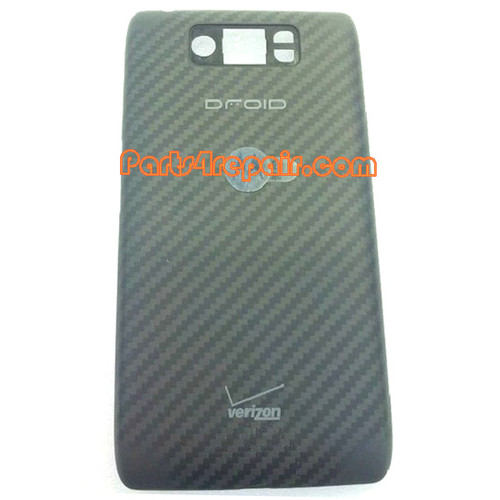 Back Cover for Motorola Droid Ultra XT1080 -Black (Thick Version)