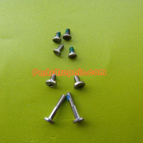 a full set of Screws for Nokia 8800 Arte Black