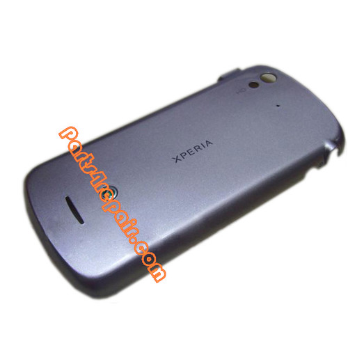 Back Cover for Sony Ericsson Xperia Pro MK16I -Silver