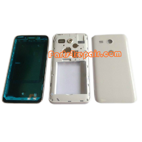 Full Housing Cover for Huawei Ascend Y511 -White