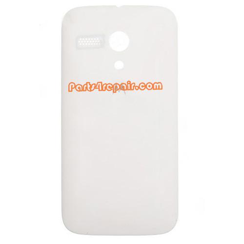 Back Cover for Motorola Moto G XT1032 -White