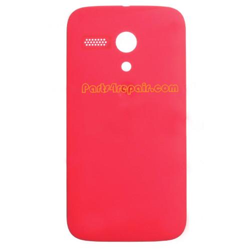 Back Cover for Motorola Moto G XT1032 -Red