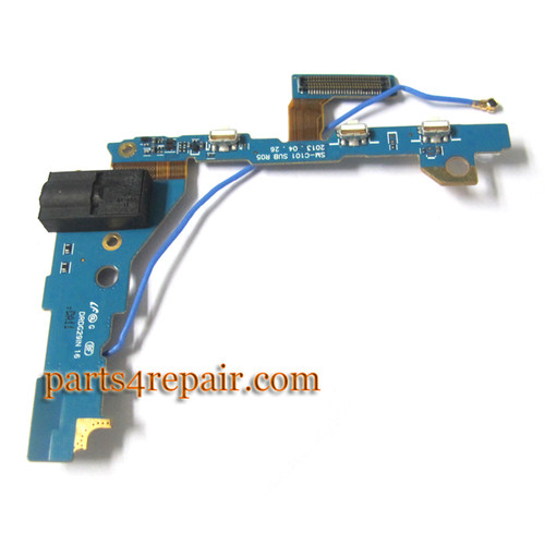 Earphone Jack Flex Cable for Samsung Galaxy S4 ZOOM
