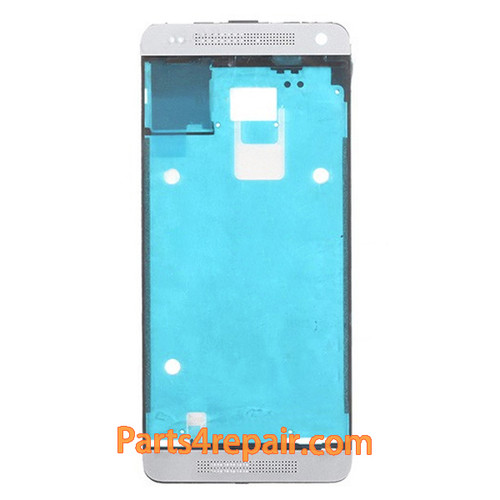 Front Housing Cover for HTC One mini M4 -White