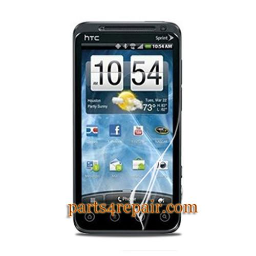 HTC EVO 3D Clear Screen Protector Shield Film