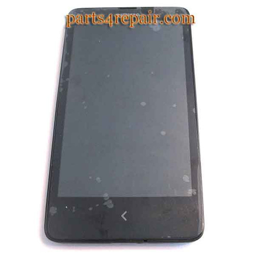 Complete Screen Assembly with Bezel for Nokia X