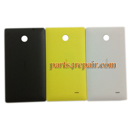 Back Cover for Nokia X -Yellow