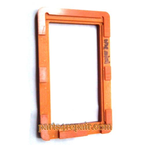 UV Glue (LOCA) Alignment Mould for HTC One mini LCD Glass