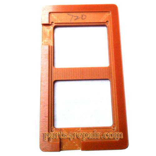 UV Glue (LOCA) Alignment Mould for Nokia Lumia 720 LCD Glass
