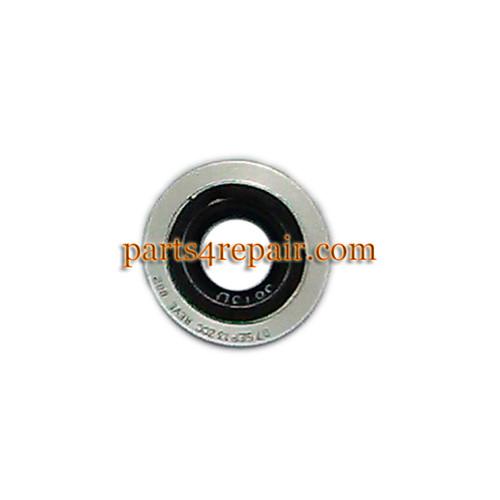 Camera Ring & Camera Lens for Motorola Moto X XT1058 -White (Used)