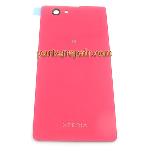 Back Cover OEM for Sony Xperia Z1 Compact mini -Pink (Plastic)