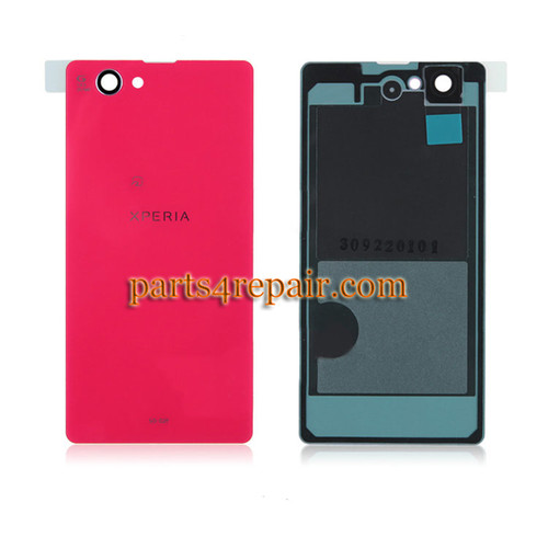 Back Cover OEM for Sony Xperia Z1 Compact mini -Pink(Japan Version)