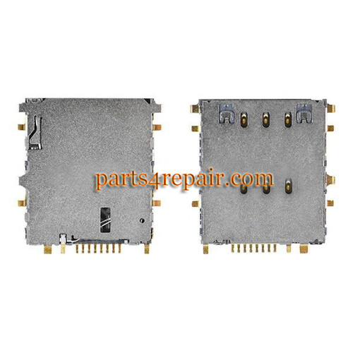 SIM Contact Connector for Samsung P3200 T211 T315