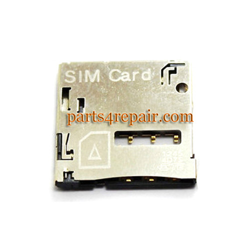 SIM Contact Connector for HTC Desire 600 606W