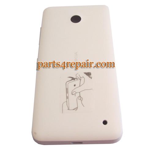 Back Cover for Nokia Lumia 630 -White