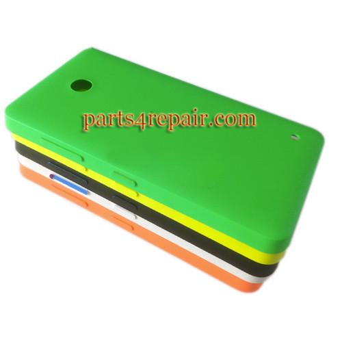 Back Cover for Nokia Lumia 630 -Orange
