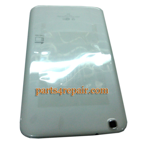 Back Cover for Samsung Galaxy Tab 3 8.0 T310 -White (WIFI Version)