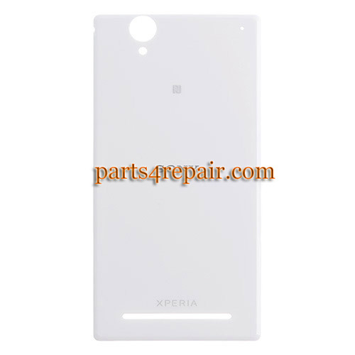 Back Cover for Sony Xperia T2 Ultra XM50H -White