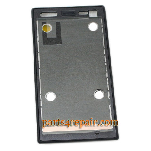Sony Xperia acro S LT26W Front Faceplate Cover -Black