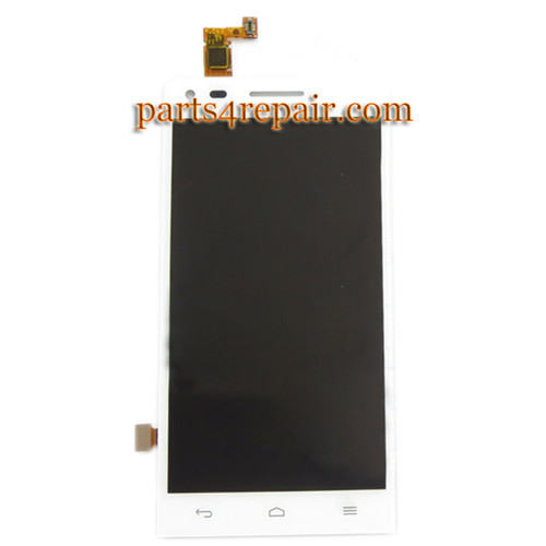 Complete Screen Assembly for Huawei Ascend G6 -White