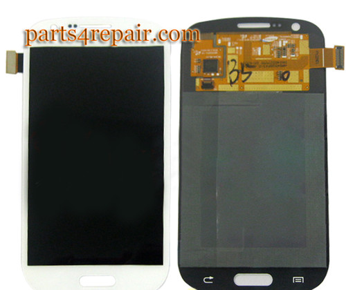 Complete Screen Assembly for Samsung Galaxy Express I8730 -White