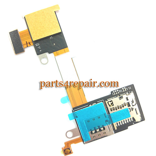 SIM Connector Flex Cable for Sony Xperia M2 S50H