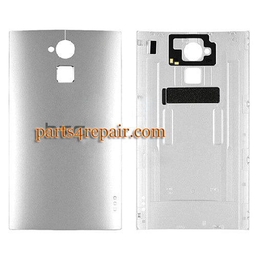Back Cover for HTC One Max -Silver
