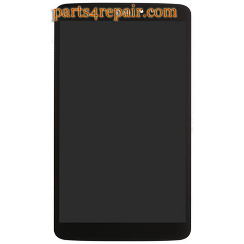 Complete Screen Assembly for LG G Pad 8.3 V500 -Black