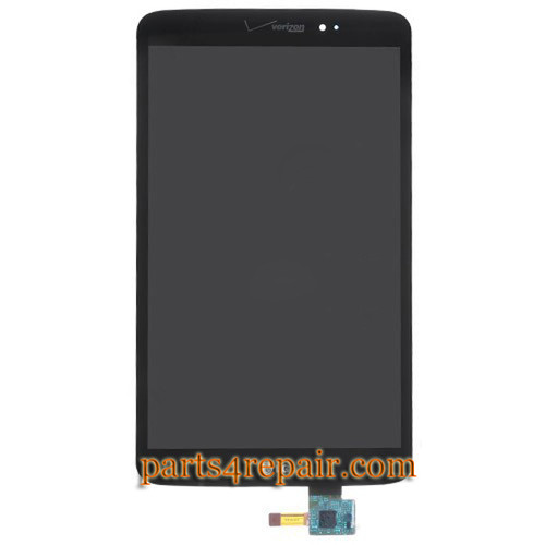 Complete Screen Assembly for LG G Pad 8.3 LTE -Black (for Verizon)