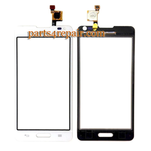 Touch Screen Digitizer for LG Optimus F6 D500 -White