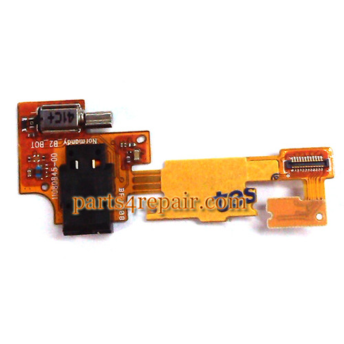 Earphone Jack Flex Cable for Nokia X