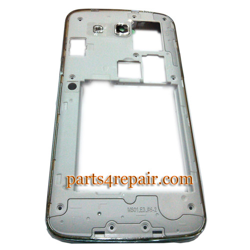 Middle Cover for Samsung Galaxy Grand 2 G7102 -White