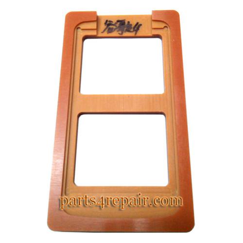 UV Glue (LOCA) Alignment Mould for LG Nexus 4 E960 LCD Outer Glass
