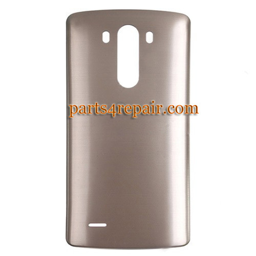 Back Cover for LG G3 D855 (for Europe) -Gold