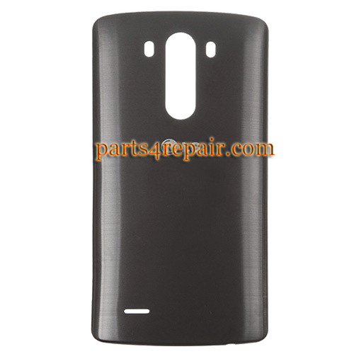 Back Cover for LG G3 D855 (for Europe) -Black