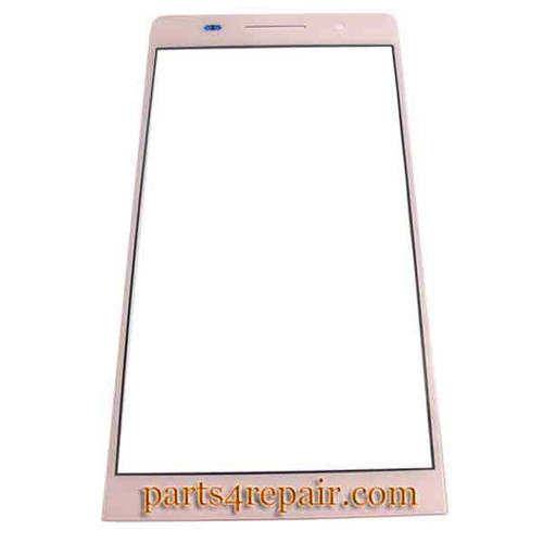 Front Gorilla Glass for Huawei Ascend P6 -Pink