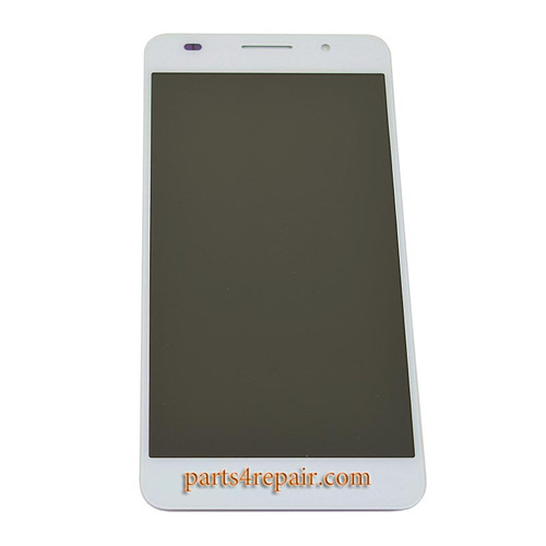 Complete Screen Assembly for Huawei Honor 6 -White
