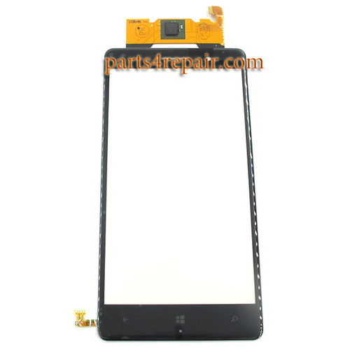 Touch Screen Digitizer for Nokia Lumia 830 from www.parts4repair.com