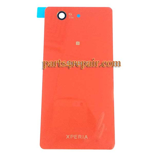 Back Cover OEM for Sony Xperia Z3 Compact mini -Orange
