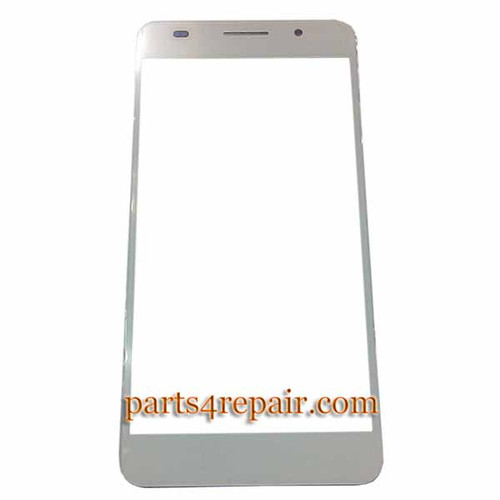 Front Glass OEM for Huawei Honor 6 -White
