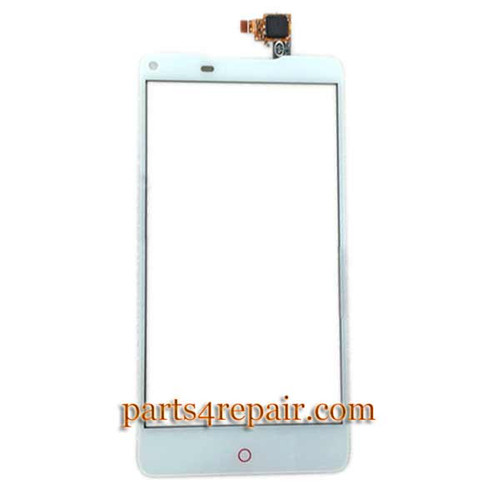 Touch Screen Digitizer for ZTE Nubia Z5S NX503A -White