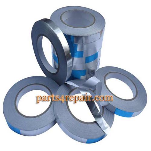 10mm*50m Aluminum Foil Adhesive Tape Heat Resistant