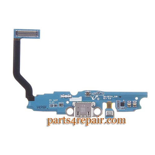 Dock Charging Flex Cable for Samsung Galaxy S5 Active G870A