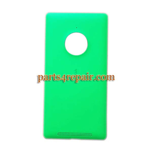 Back Cover with Wireless Charging Coil for Nokia Lumia 830 -Green