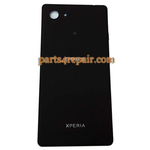 Back Cover for Sony Xperia E3 -Black
