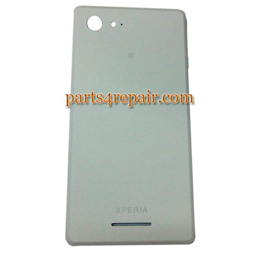 Back Cover for Sony Xperia E3 -White