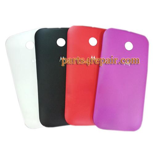 Back Cover for Motorola Moto E XT1021 -Black