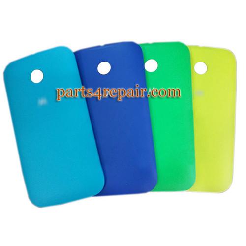Back Cover for Motorola Moto E XT1021 -Light Blue