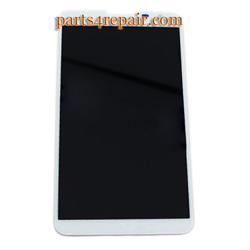 Complete Screen Assembly for Huawei Ascend Mate 2 -White
