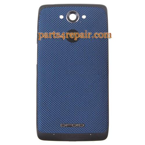 Back Cover for Motorola Droid Turbo XT1254 -Blue